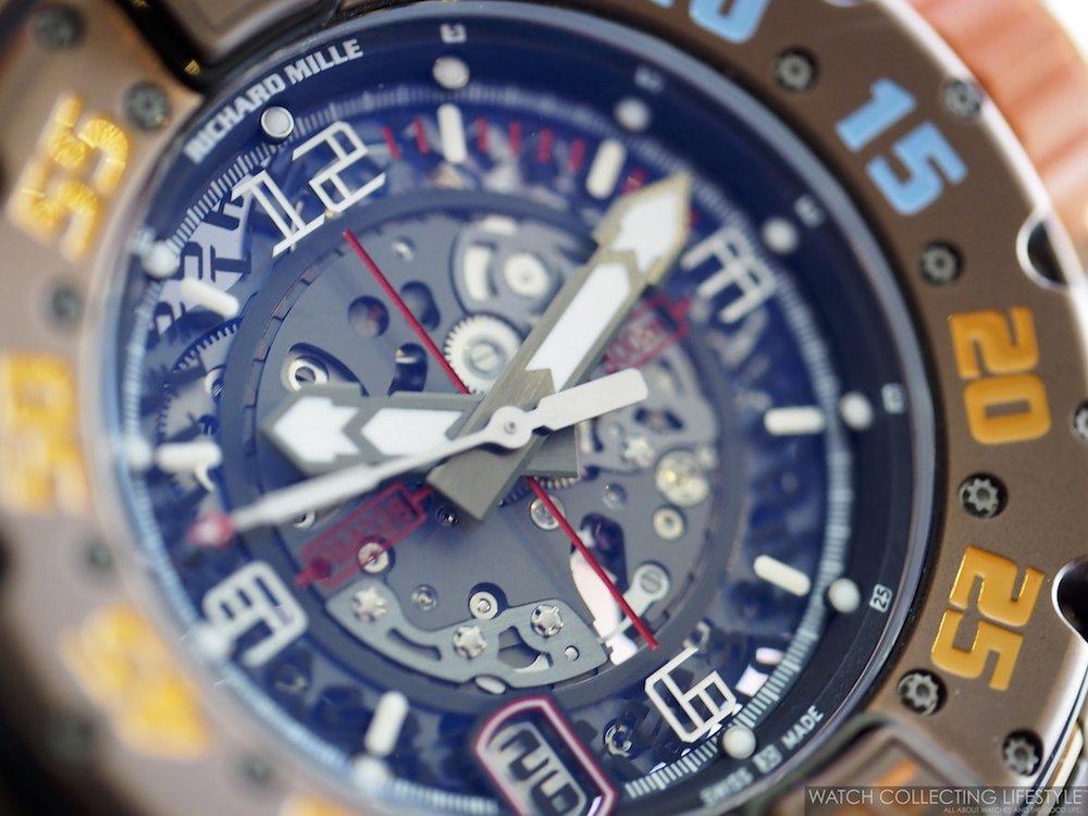 Richard Mille RM 028 Brown PVD Titanium WCL1