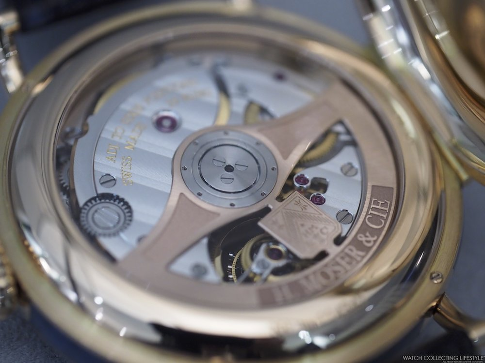 H. Moser & Cie. Heritage Tourbillon Movement
