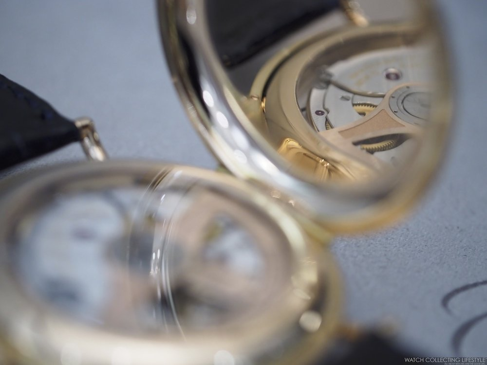 H. Moser & Cie. Heritage Tourbillon Hunter Case