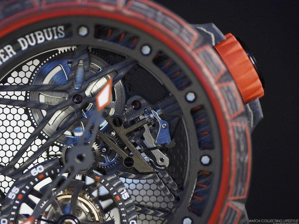 Roger Dubuis Excalibur Spider Carbon Skeleton Flying Tourbillon WCL 2