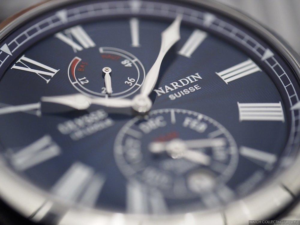 Ulysse Nardin Marine Chronometer Annual Calendar Dial
