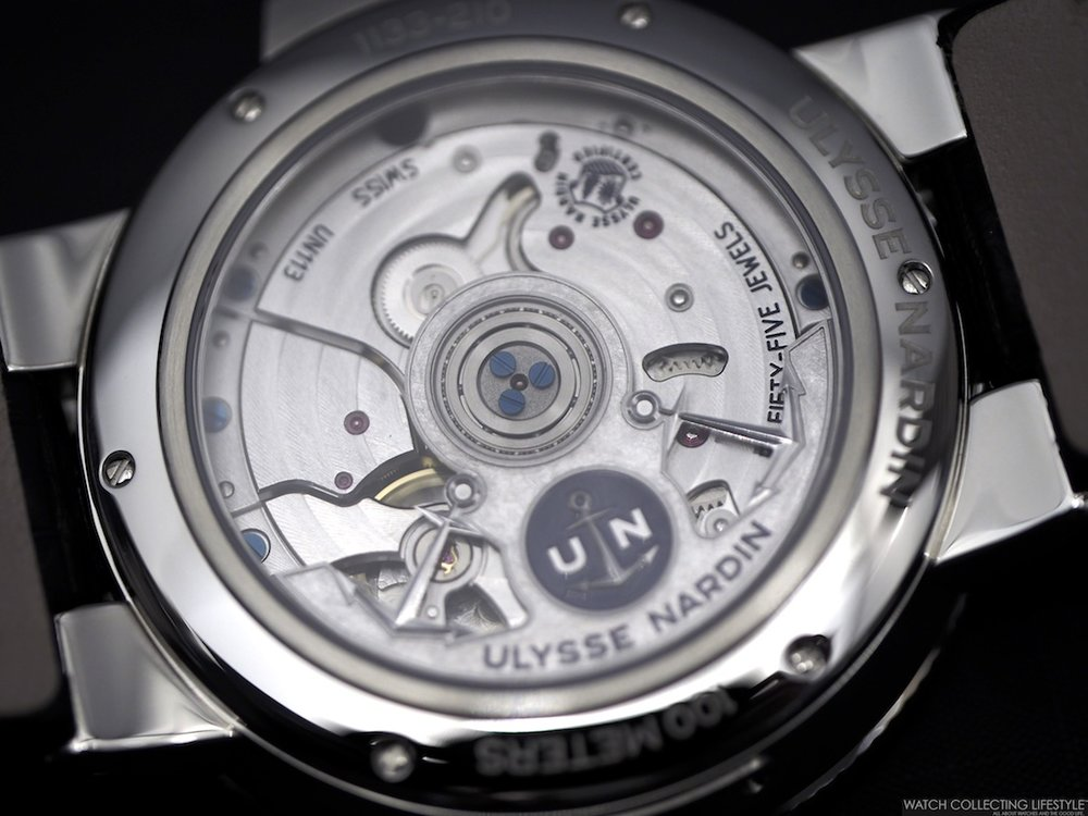 Ulysse Nardin Marine Chronometer Annual Calendar Movement