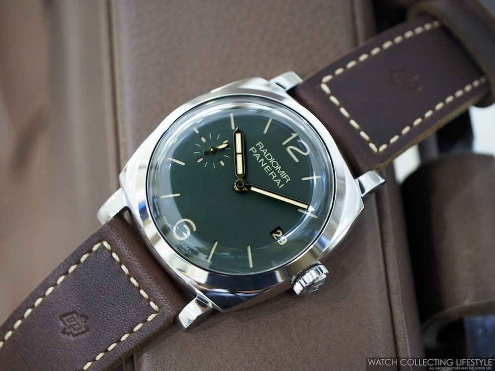 Insider Panerai Radiomir 1940 3 Days Green Dial Pam 736 One Of The
