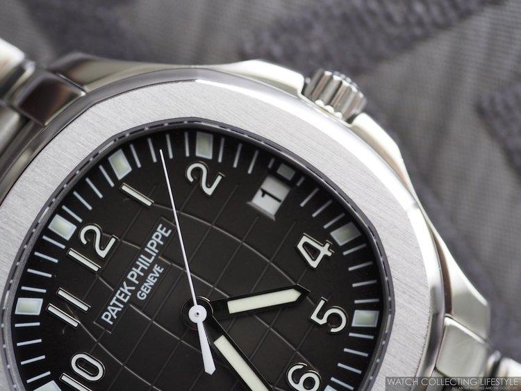 Patek Philippe Aquanaut ref. 5167/1A-001 on Bracelet