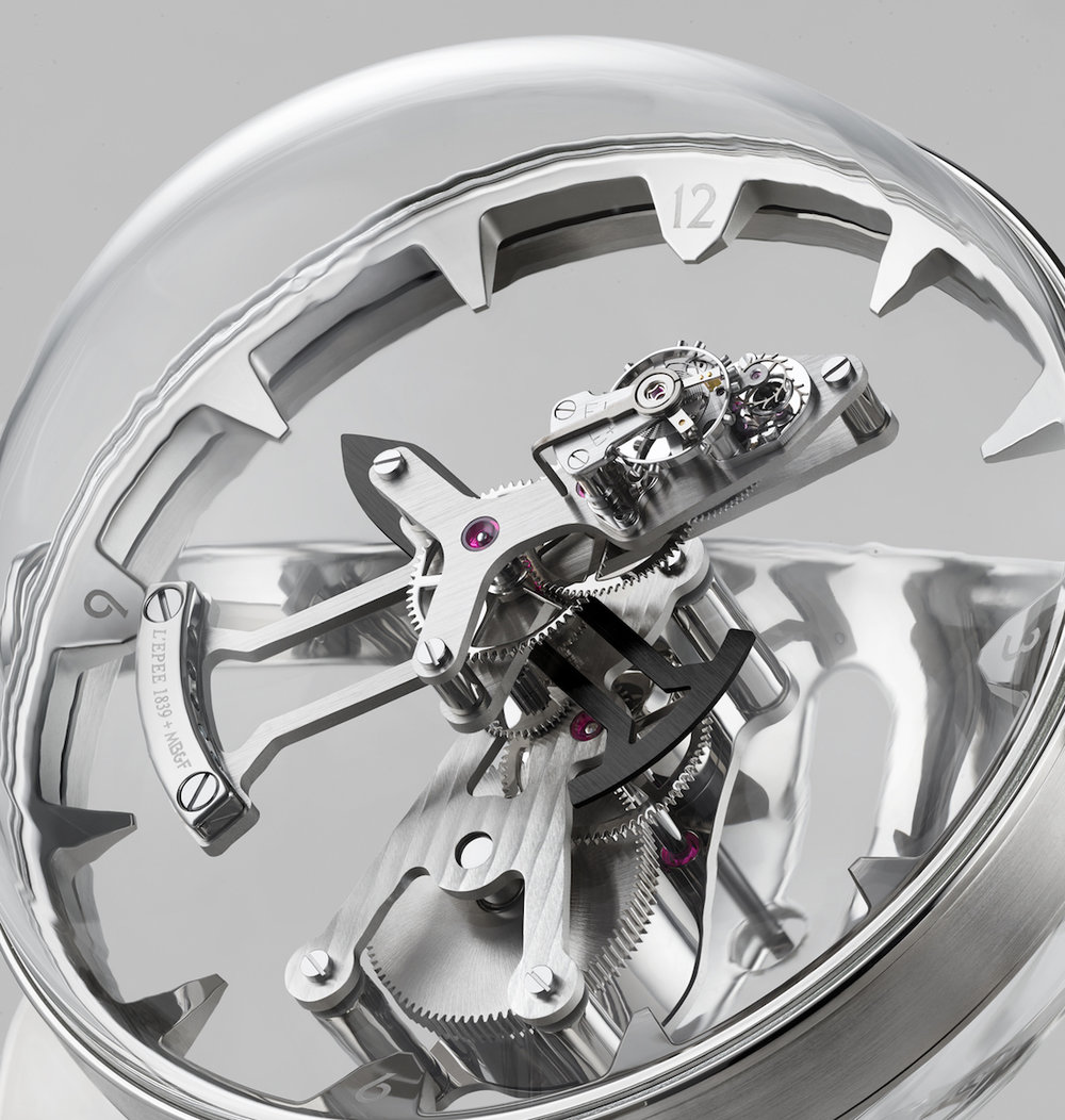 MB&F Octopod Clock