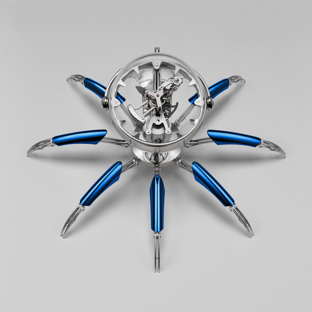 MB&F Octopod Clock in Collaboration with L'Epée 1839