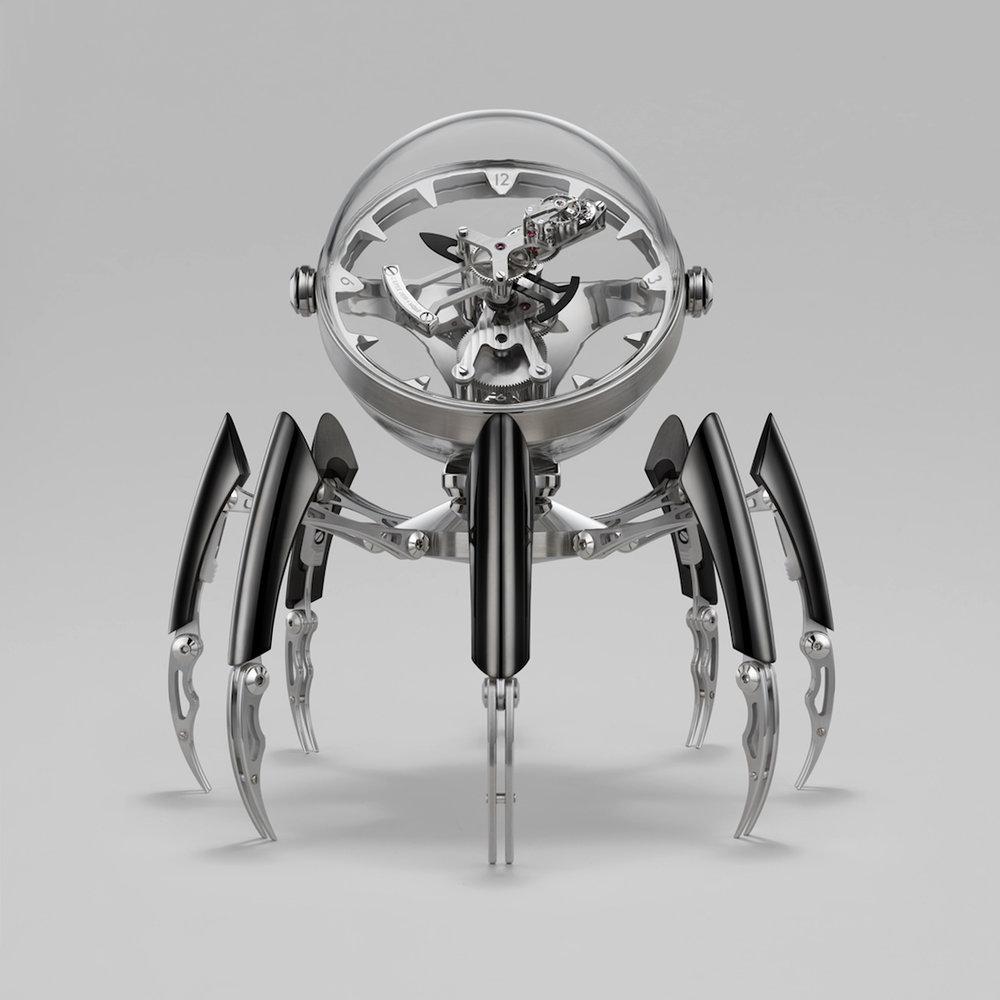 MB&F Octopod Clock Black