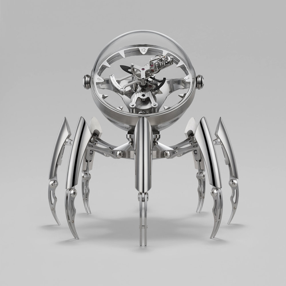 MB&F Octopod Clock Palladium