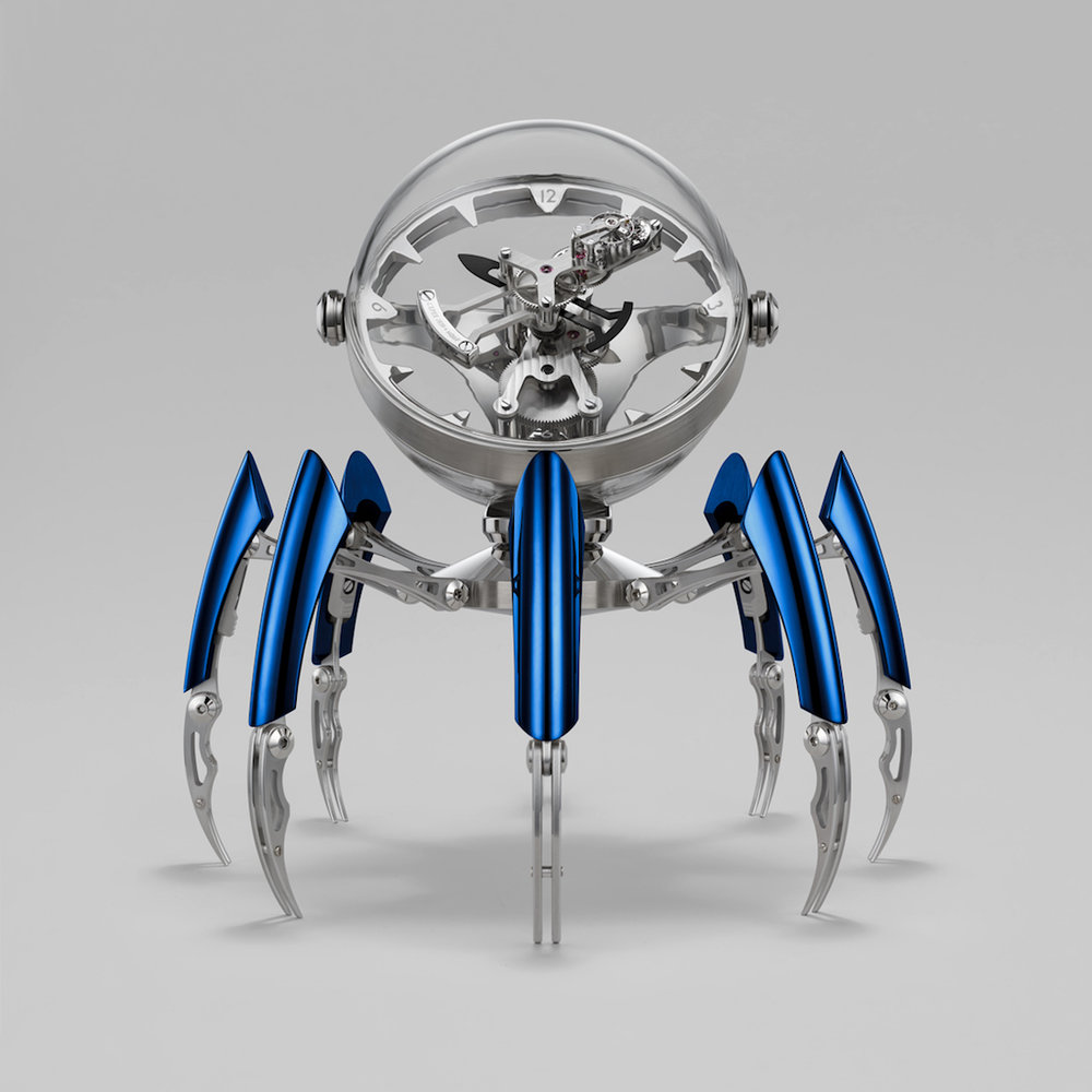 MB&F Octopod Clock Blue