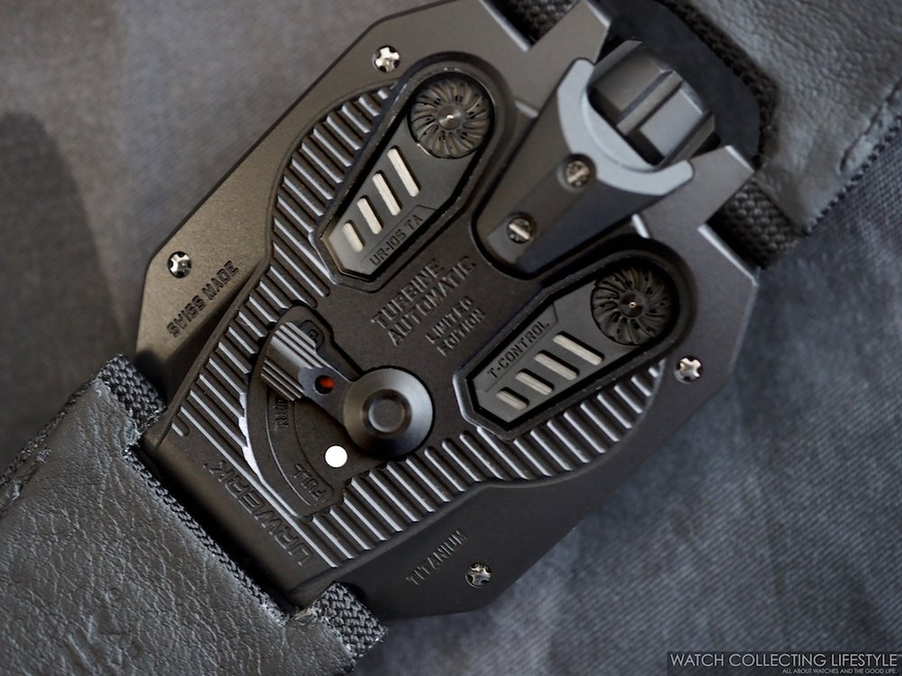 Urwerk UR-105 CT Streamliner Case Back