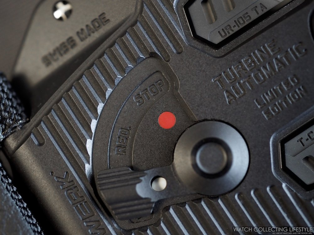 Urwerk UR-105 CT Streamliner Movement