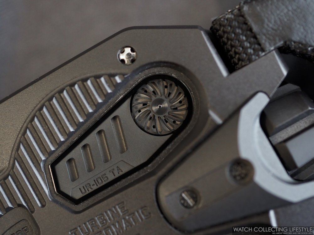 Urwerk UR-105 CT Streamliner Turbine Automatic