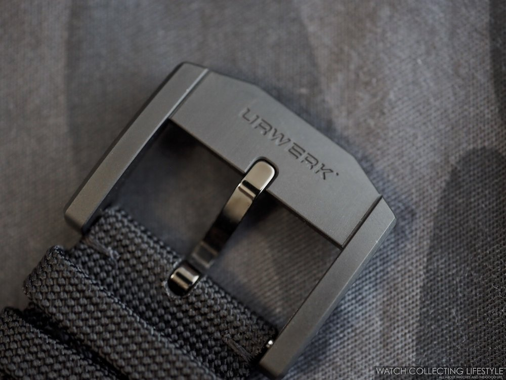 Urwerk UR-105 CT Streamliner Pin Buckle