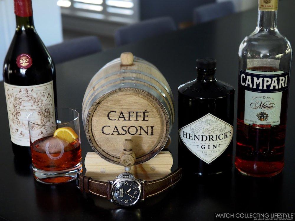 Caffe Casoni Aged Negroni