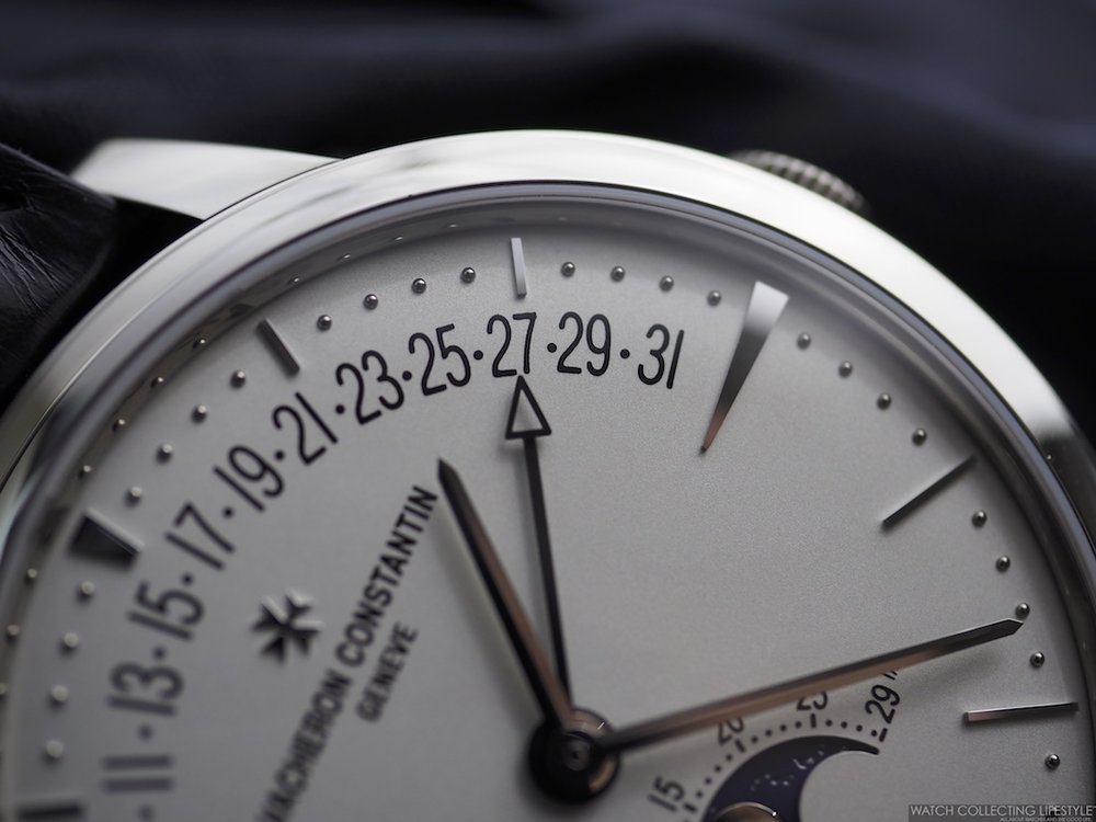 Vacheron Constantin Patrimony Moon Phase & Retrograde Date