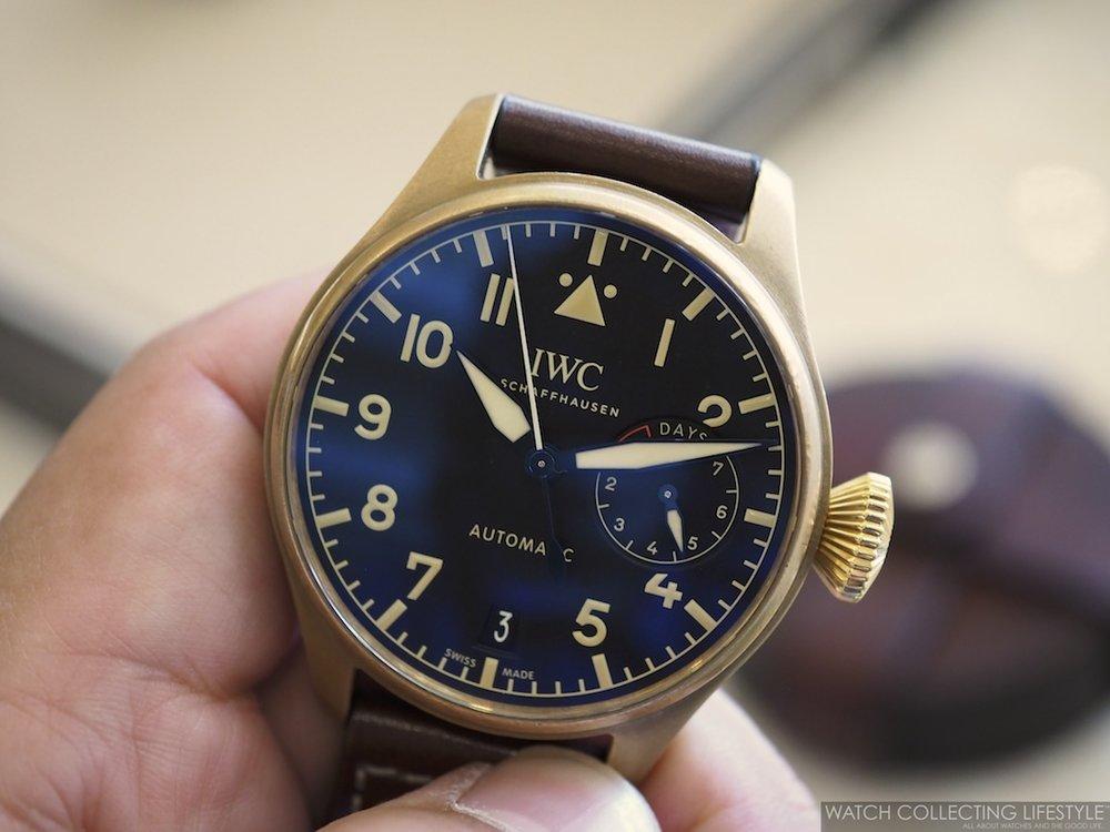 IWC Big Pilot's Watch Bronze WCL