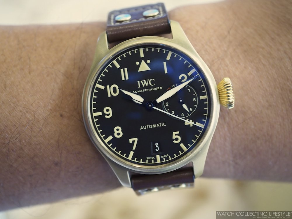 IWC Big Pilot's Watch Bronze Limited Edition Wristshot