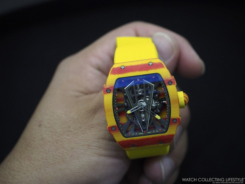 Richard Mille RM 27-03 Tourbillon Rafael Nadal on Hand
