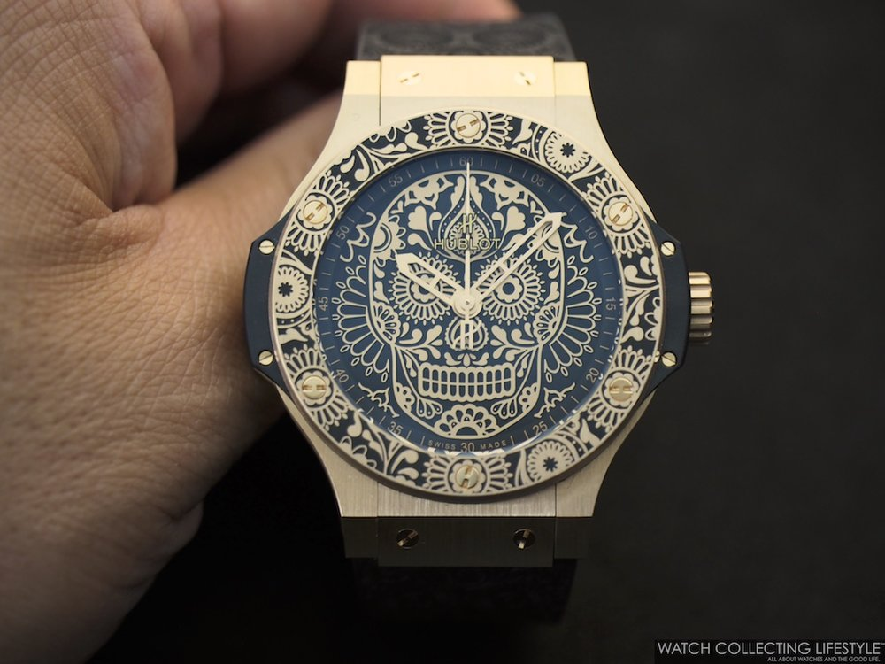 Hublot Big Bang Calaveras Patrias 18K Red Gold