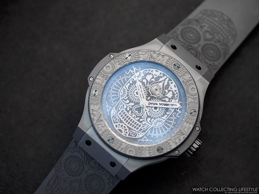 Hublot Big Bang Calaveras Patrias Black Ceramic