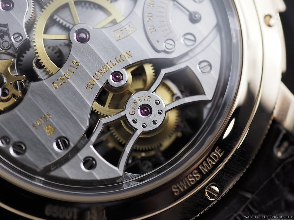 Vacheron Constantin Traditionelle Minute Repeater Movement