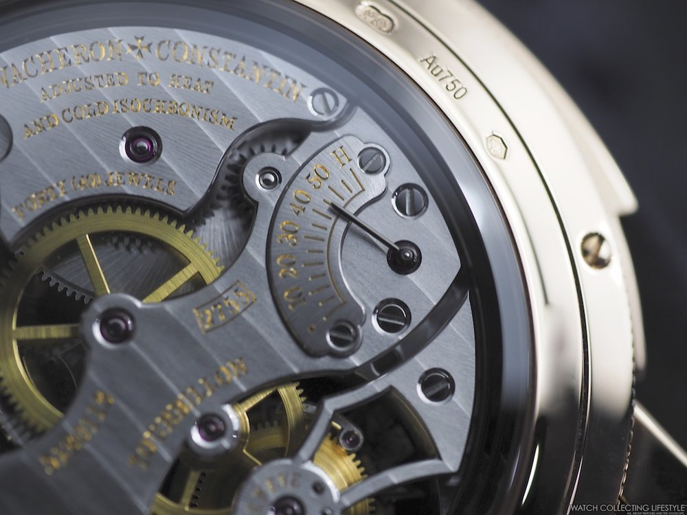 Vacheron Constantin Traditionelle Minute Repeater Macro