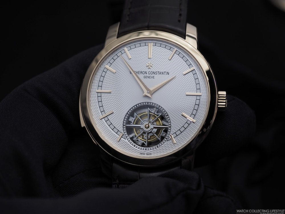 Vacheron Constantin Traditionelle Minute Repeater.