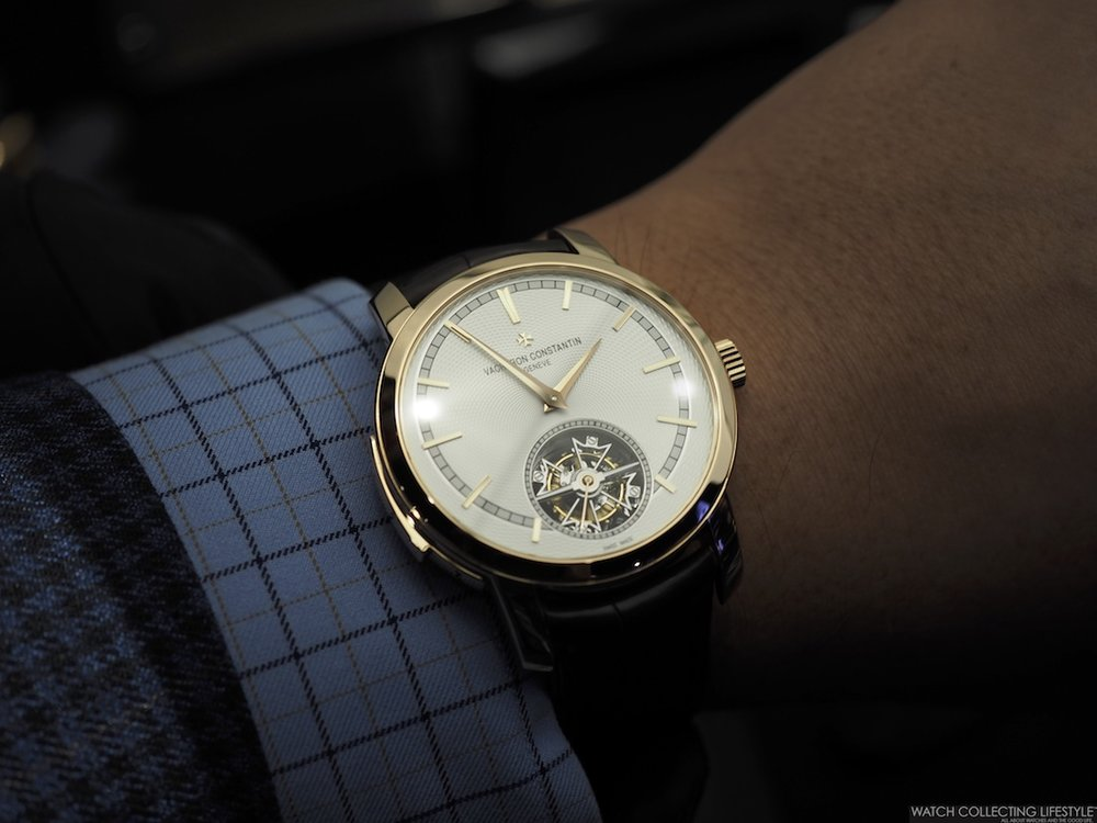 Vacheron Constantin Traditionelle Minute Repeater Wristshot