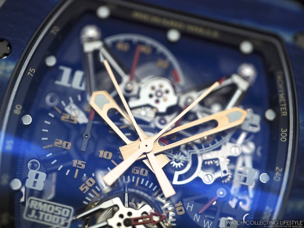 Richard Mille RM50 Jean Todt Split Seconds