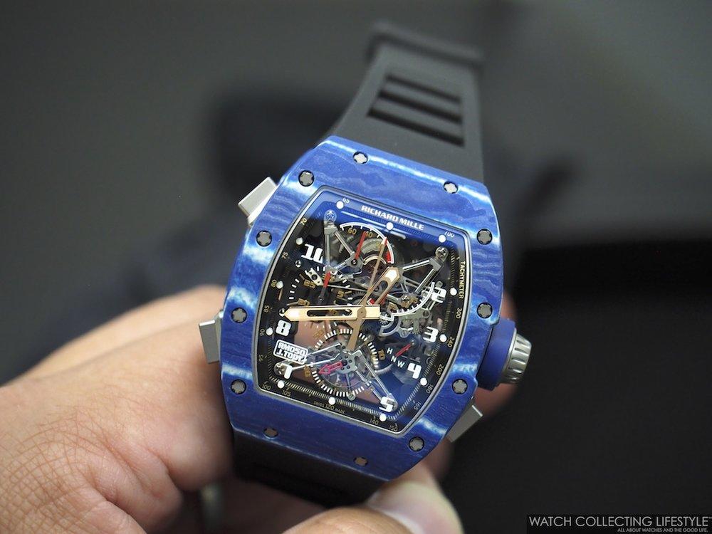 Richard Mille RM 050 Jean Todt Split Seconds WCL