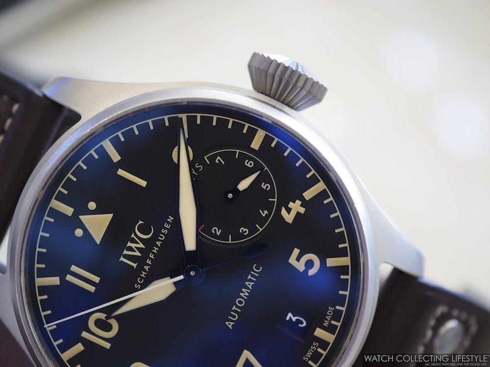 IWC Big Pilot's Watch Titanium Limited Edition