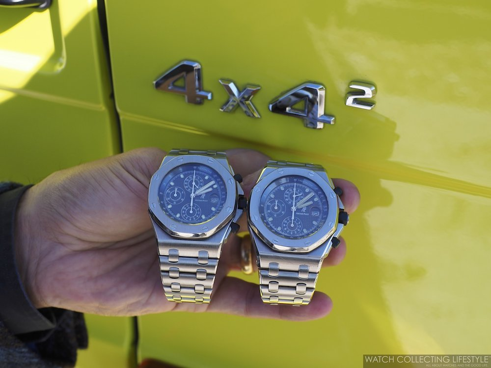 Royal Oak Offshore 25721ST x G Wagon Squared