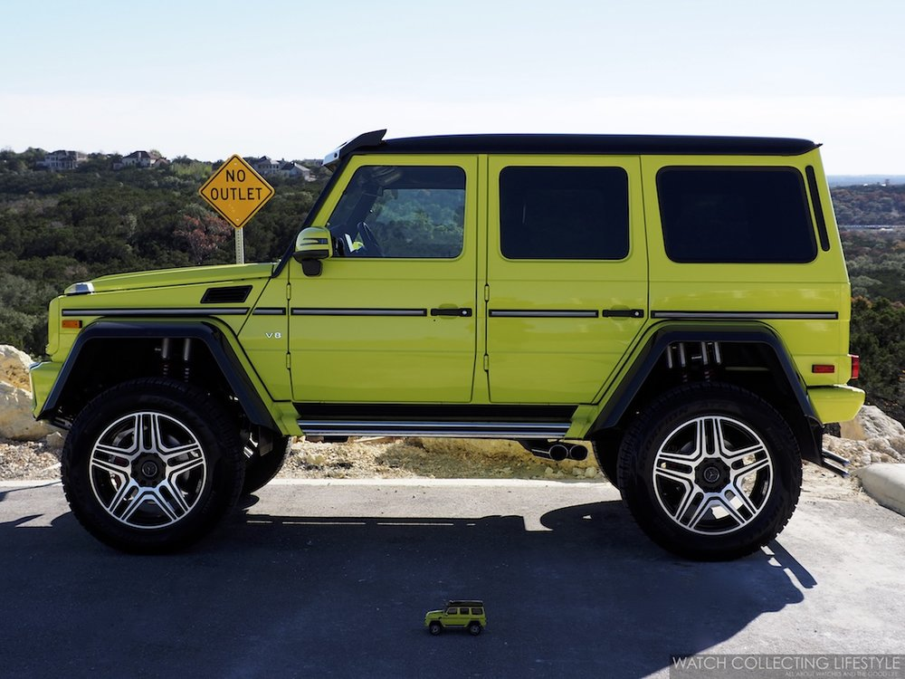 Mercedes-Benz G Wagon 4 x 4 Squared WCL6