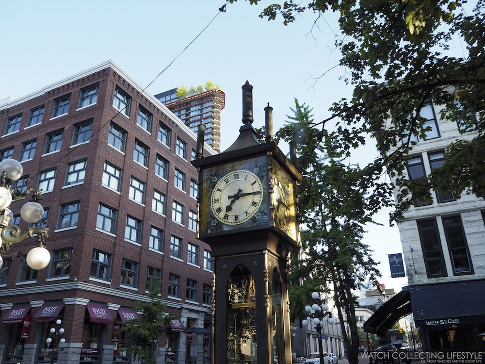 Gastown Steam Clock Vancouver Canada