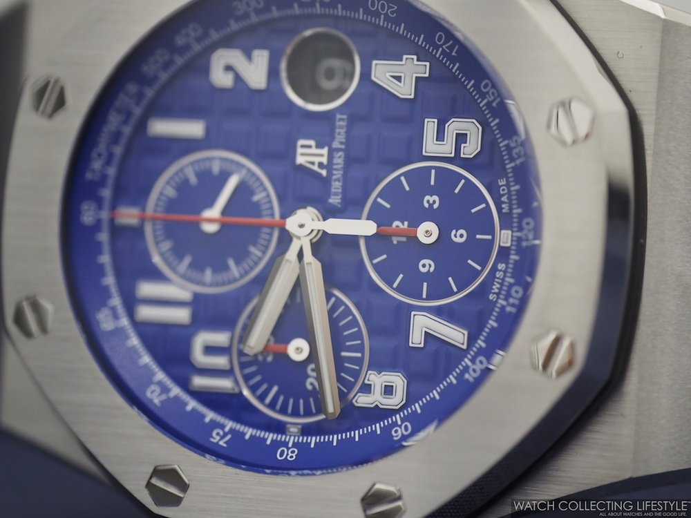 Audemars Piguet Royal Oak Offshore Indigo Blue Dial
