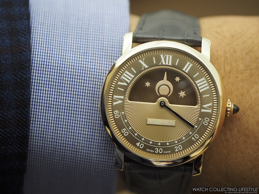 Rotonde de Cartier Mysterious Day & Night Wristshot