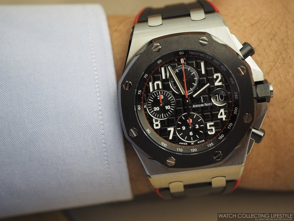 Audemars Piguet Royal Oak Offshore Chronograph 42 mm with Ceramic Bezel a.k.a 'Dark Knight' ref. 26470SO