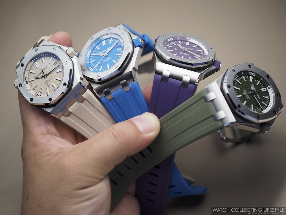 Audemars Piguet Royal Oak Offshore Diver Funky Colors
