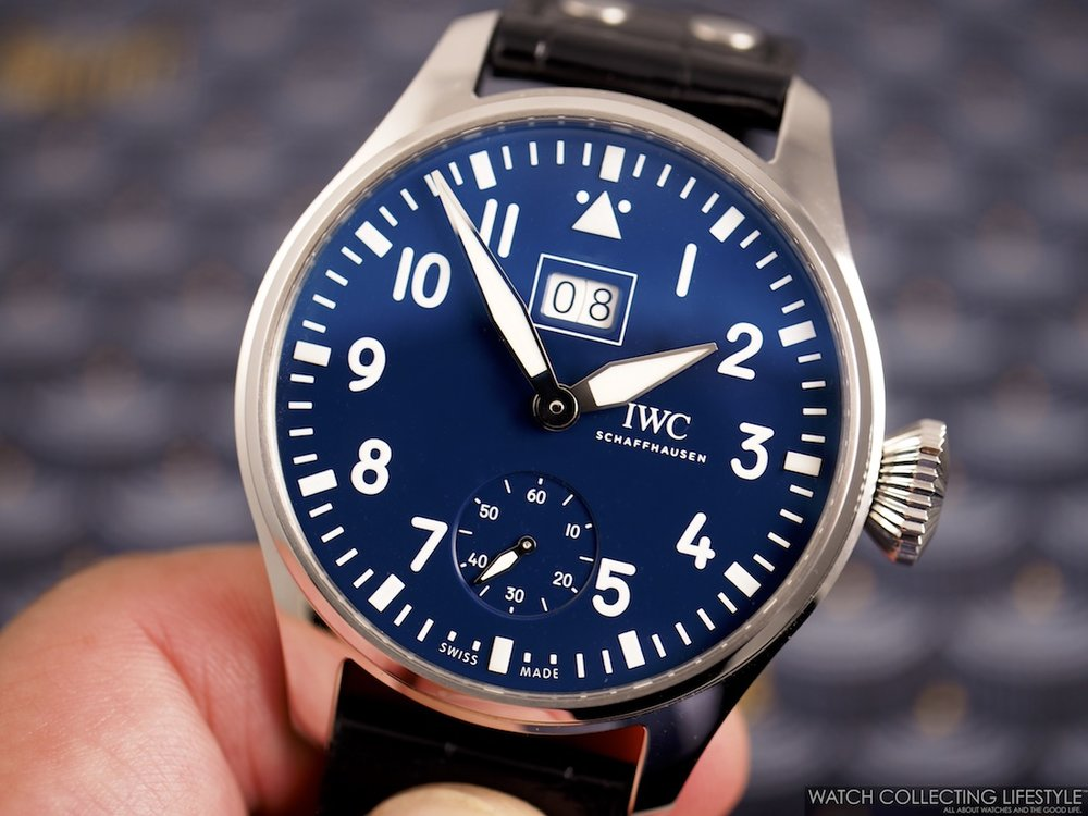 "IWC Big Pilot's Watch Big Date Edition ""150 Years"" ref. IW5105"