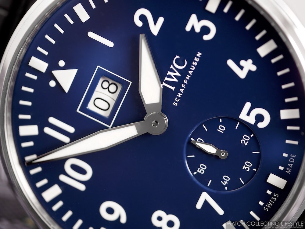 "IWC Big Pilot's Watch Big Date Edition ""150 Years"" ref. IW510503"