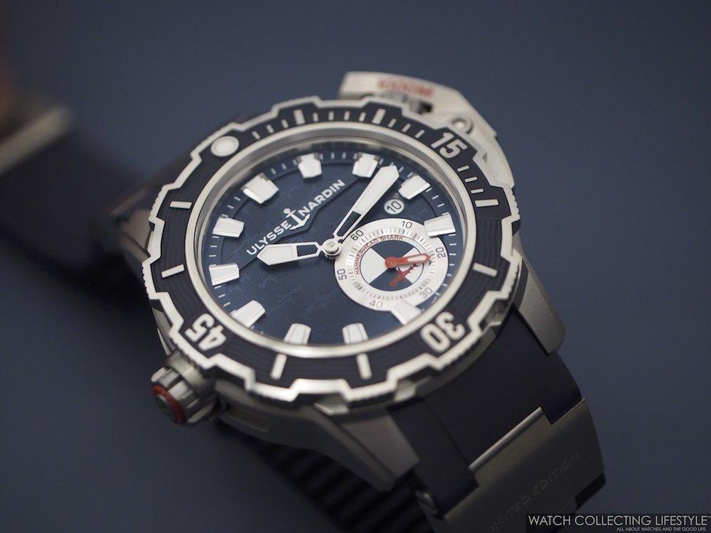 Ulysse Nardin Diver Deep Dive Hammerhead Shark