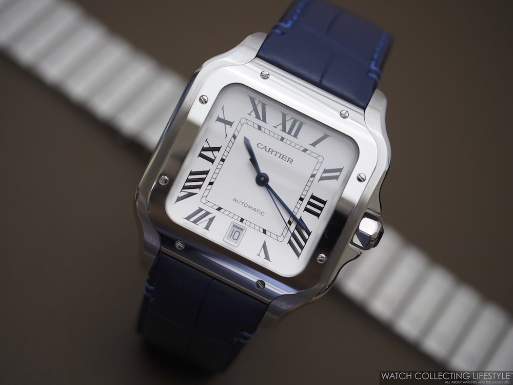 84f8d711a5ed One of the most iconic and popular Cartier watches from the 80s just got  even better. Named after Brazilian aviator Alberto Santos Dumont whom  Cartier made ...