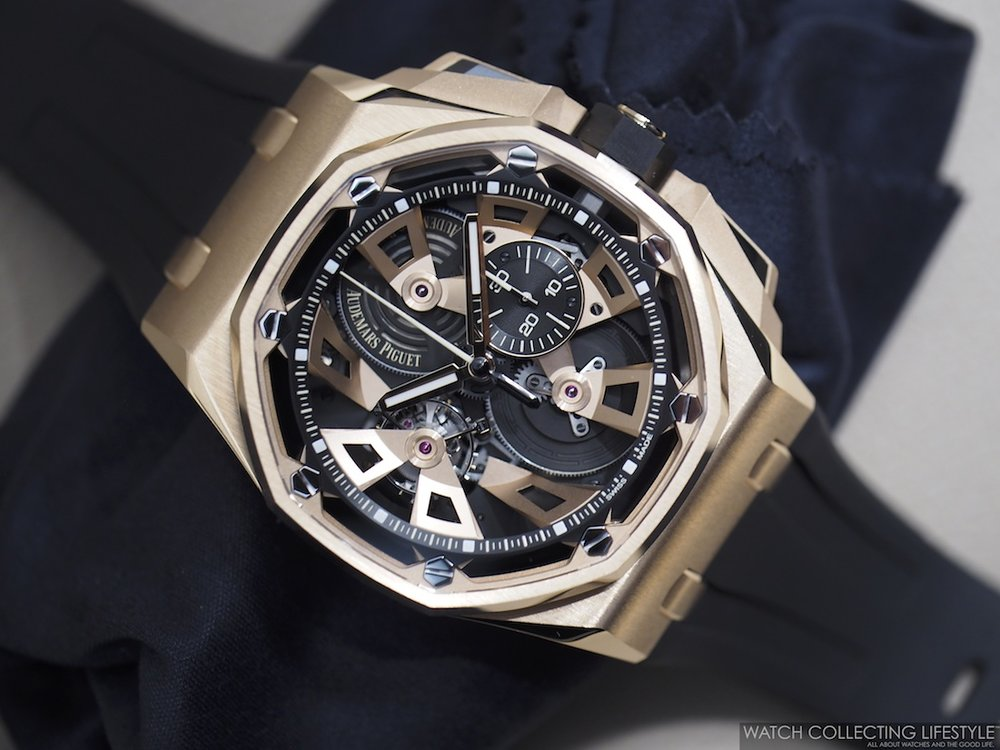 Image result for Audemars Piguet Royal Oak Offshore Tourbillon Chronograph