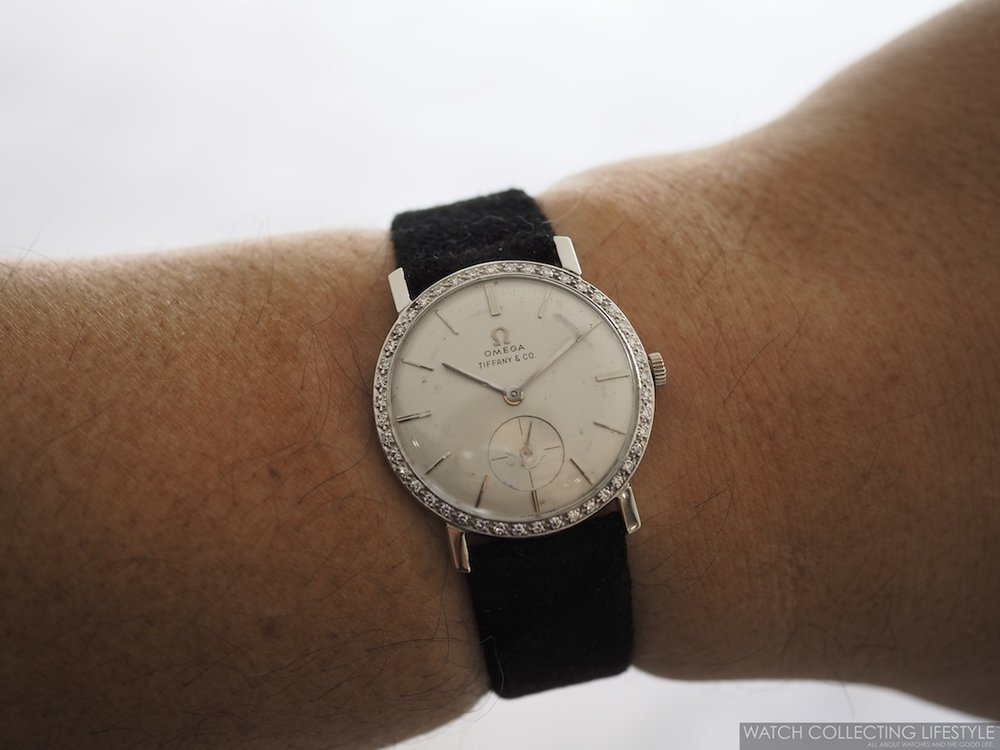 Elvis Presley's Omega Watch with Tiffany Dial