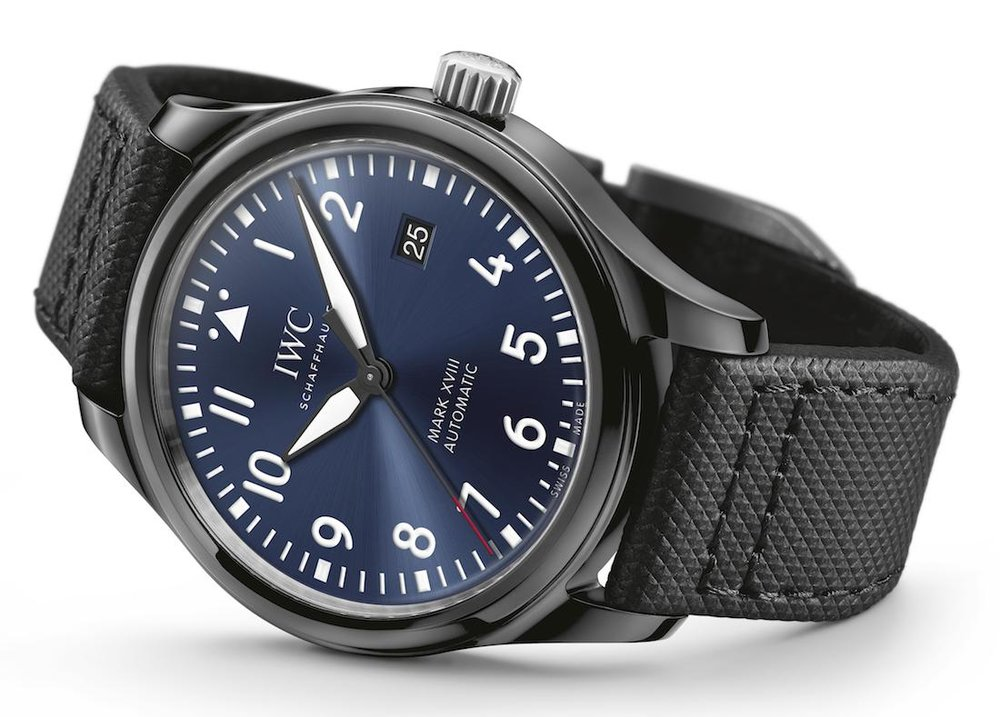 IWC Pilot's Watch Mark XVIII Laureus Sport