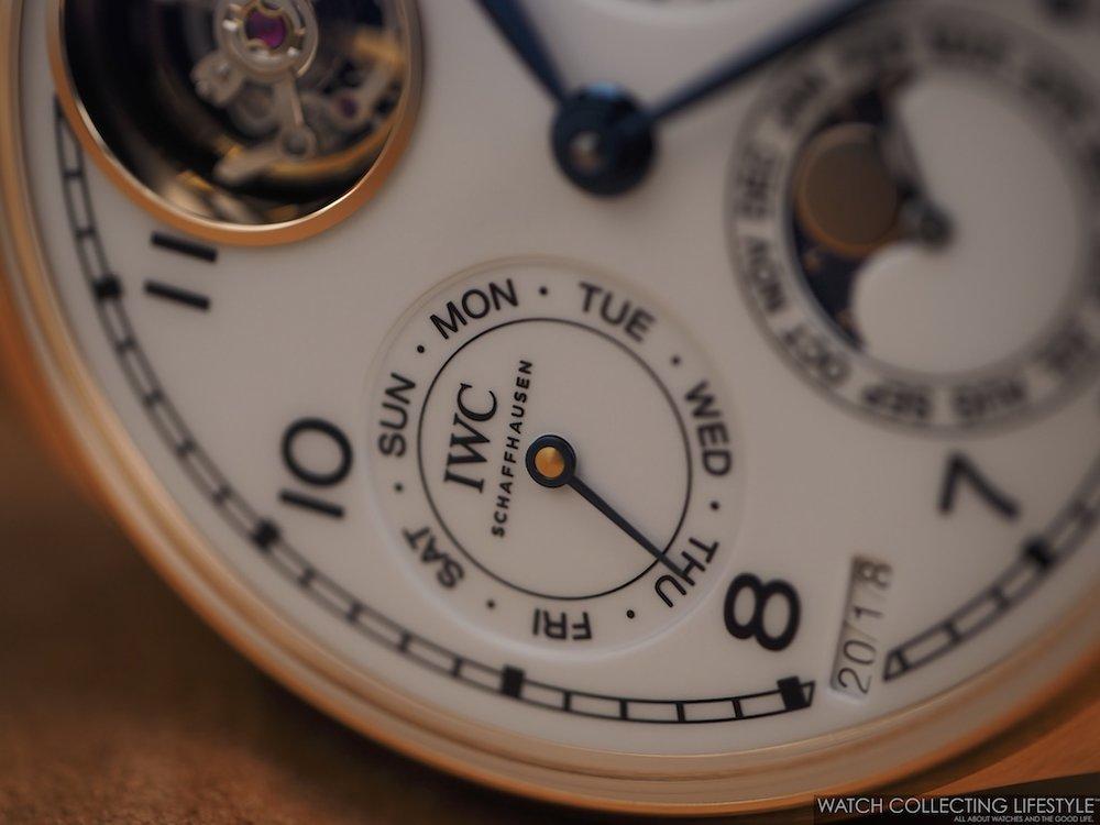 "IWC Portugieser Perpetual Calendar Tourbillon Edition ""150 Years"""