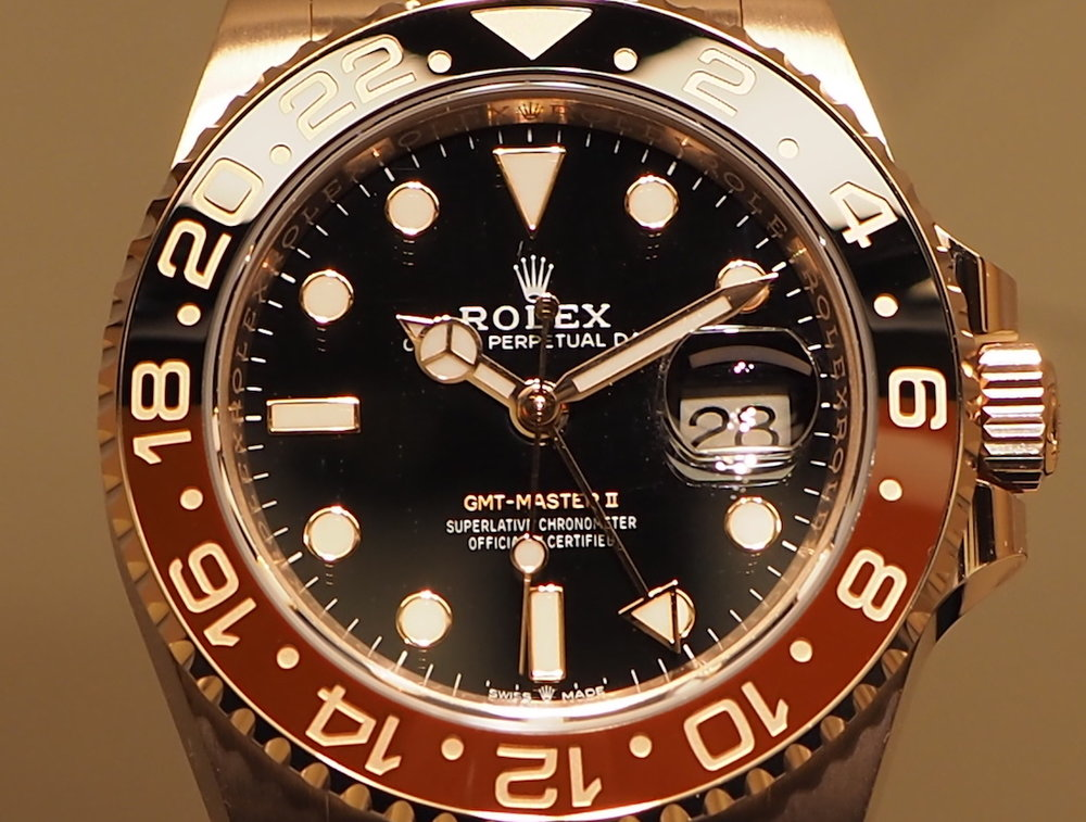 Rolex GMT Master II Everose ref. 126715CHNR