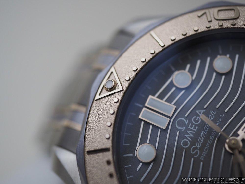 Omega Diver 300M Titanium Tantalum Limited Edition