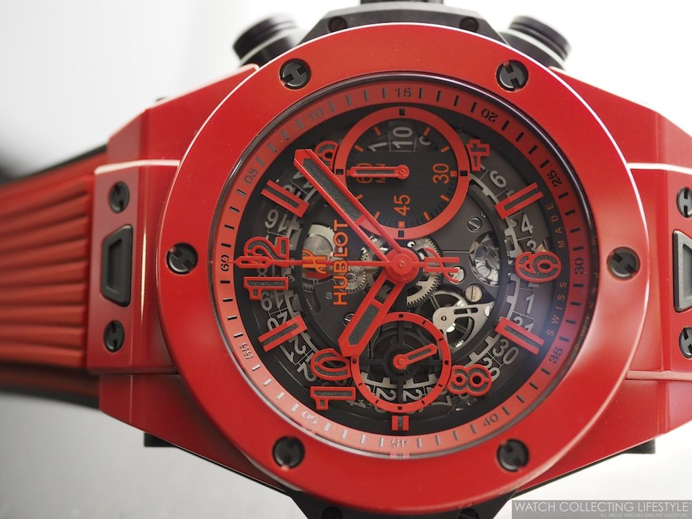 Hublot Big Bang Unico Red Magic Side WCL