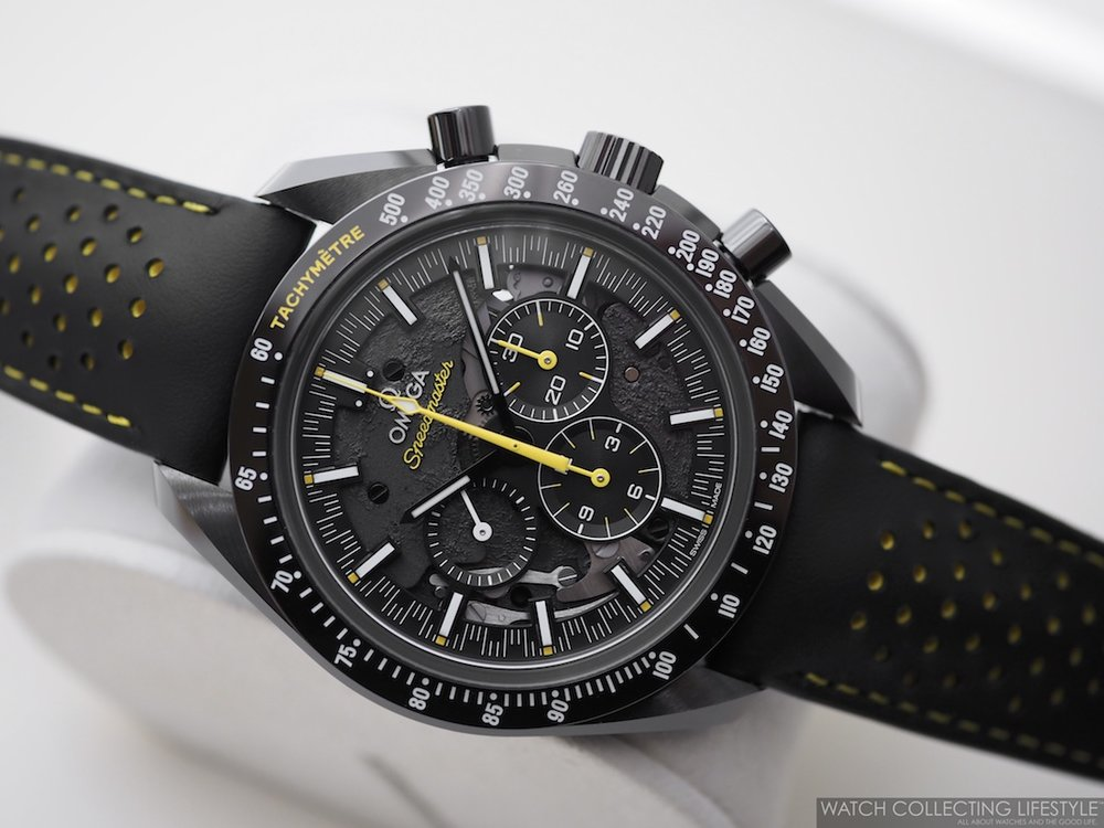 Omega Speedmaster 'Dark Side of the Moon' Apollo 8 Limited Edition WCL1